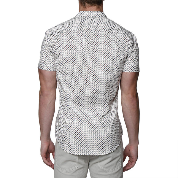 Geo Print Short Sleeve Shirt