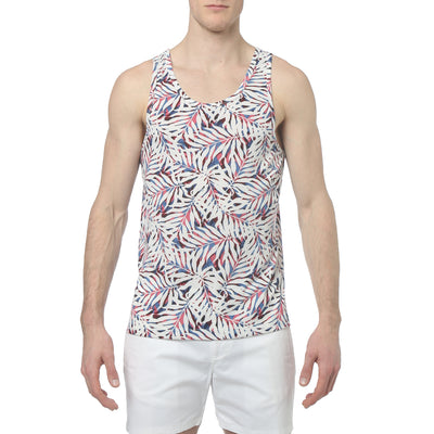 Pink Graffiti Fern Graffiti Fern Print Tank-Top - parke & ronen