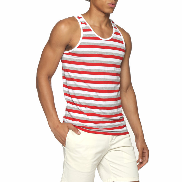 Tri-Stripe Red