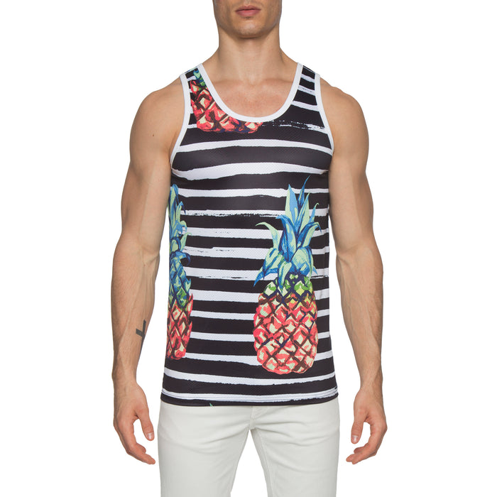 Pineapple Tank Black