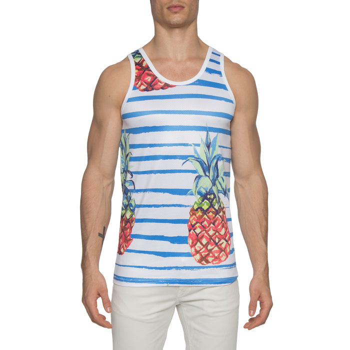 Pineapple Tank White
