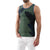 [parke & ronen] Feather Printed Tank Top - army (Thumbnail)