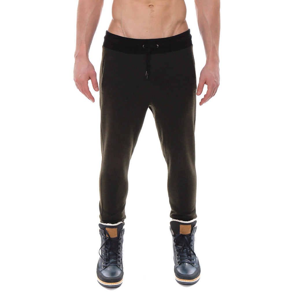 [parke & ronen] Fairmont Thermal Jogger Pant - green