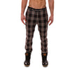 [parke & ronen] Plaid Lido Trouser - red plaid (Thumbnail)