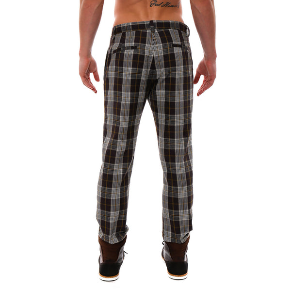 Plaid Lido Trouser