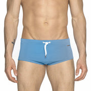 Parke & Ronen Columbia Blue Corocavado Swim Brief