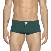Parke & Ronen Forest Green Corocavado Swim Brief