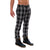 [parke & ronen] Plaid Lido Trouser - dark blue plaid (Thumbnail)