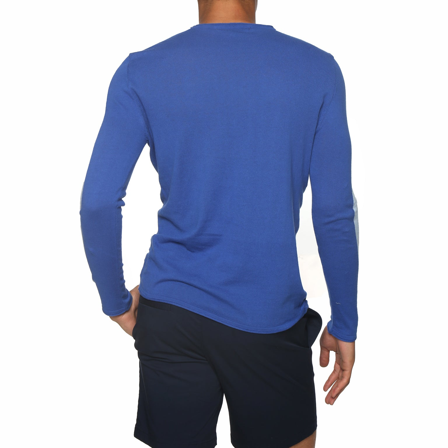 Colorblock Long Sleeve Crewneck
