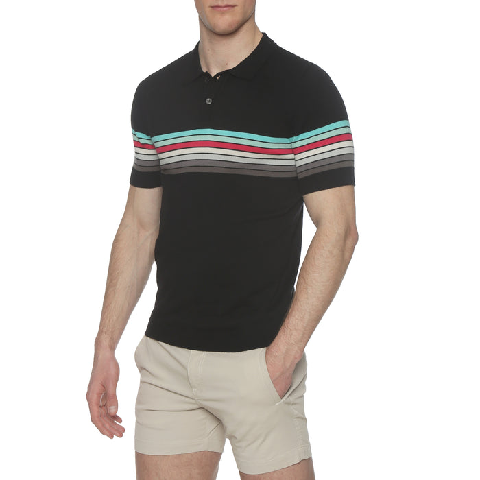 Ventura Stripe Black