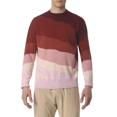 Red Skyline Sweater - parke & ronen