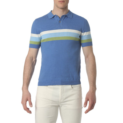 Royal Musketeer Stripe Polo - parke & ronen
