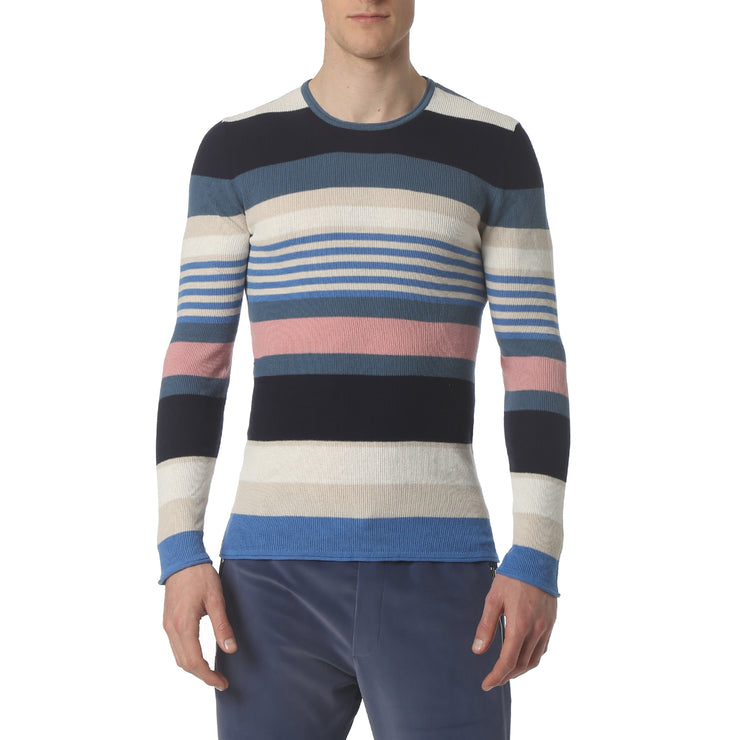 Multi Stripe Blue