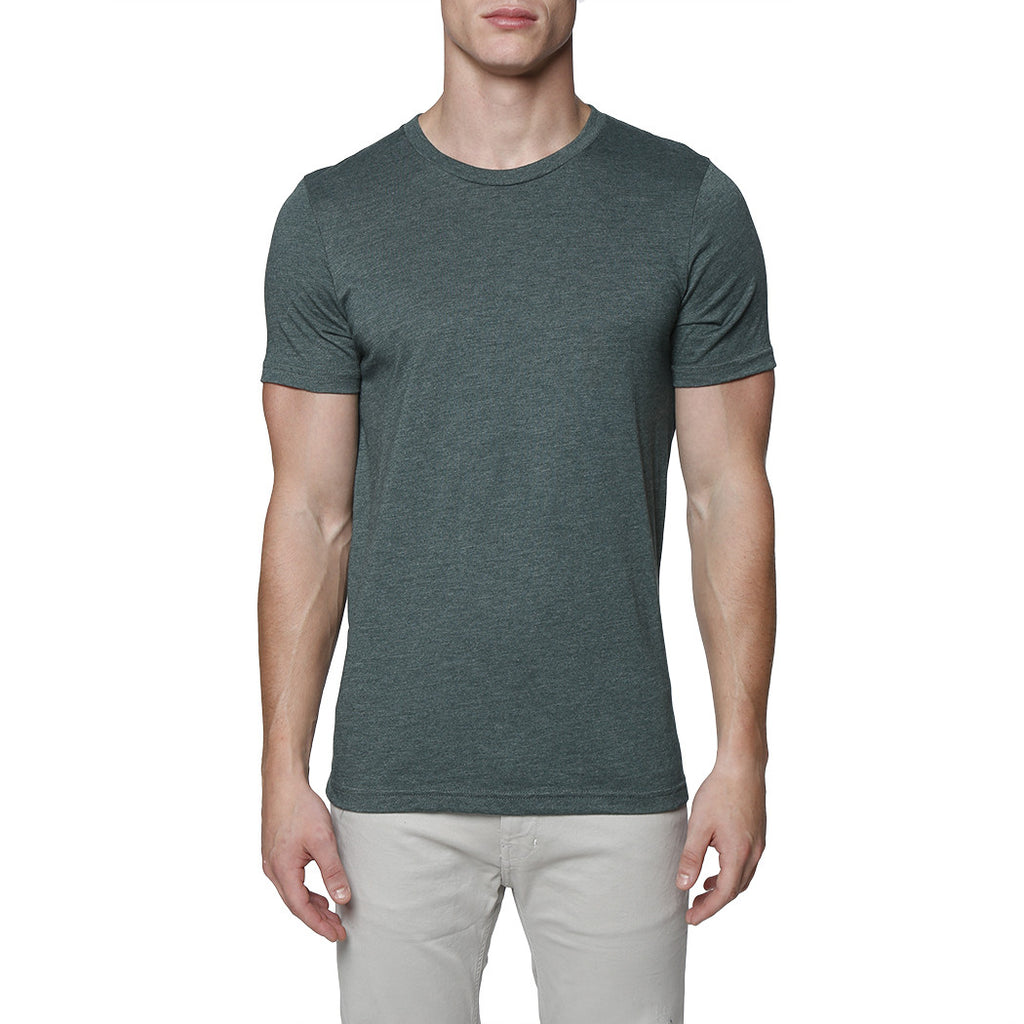 [parke & ronen] Solid Crewneck Tee - forest green