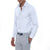 [parke & ronen] Solid Long Sleeve Slim Fit Lowell Casual Shirt - white (Thumbnail)