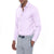 [parke & ronen] Solid Long Sleeve Slim Fit Lowell Casual Shirt - pink (Thumbnail)