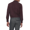 [parke & ronen] Solid Long Sleeve Slim Fit Lowell Casual Shirt - Brown (Thumbnail)