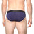 [parke & ronen] Midnight Solid Low-Rise Brief - Midnight (Thumbnail)