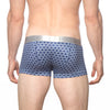 [parke & ronen] NEW ARRIVAL - Navy/White Setai Print Stretch Trunk - setai navy/white (Thumbnail)