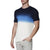 [parke & ronen] Dip Dye Short Sleeve Waffle Knit Thermal - blue (Thumbnail)