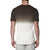 [parke & ronen] Dip Dye Short Sleeve Waffle Knit Thermal - green (Thumbnail)