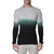 [parke & ronen] Dip Dye Long Sleeve Waffle Knit Thermal - charcoal/green (Thumbnail)