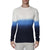 [parke & ronen] Dip Dye Long Sleeve Waffle Knit Thermal - blue (Thumbnail)