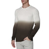 [parke & ronen] Dip Dye Long Sleeve Waffle Knit Thermal - green (Thumbnail)