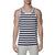 [parke & ronen] Contrast Striped Tank Top - navy/white stripe (Thumbnail)