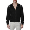 [parke & ronen] Solid French Terry Cloth Hoodie - black (Thumbnail)