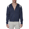 [parke & ronen] Solid French Terry Cloth Hoodie - navy (Thumbnail)