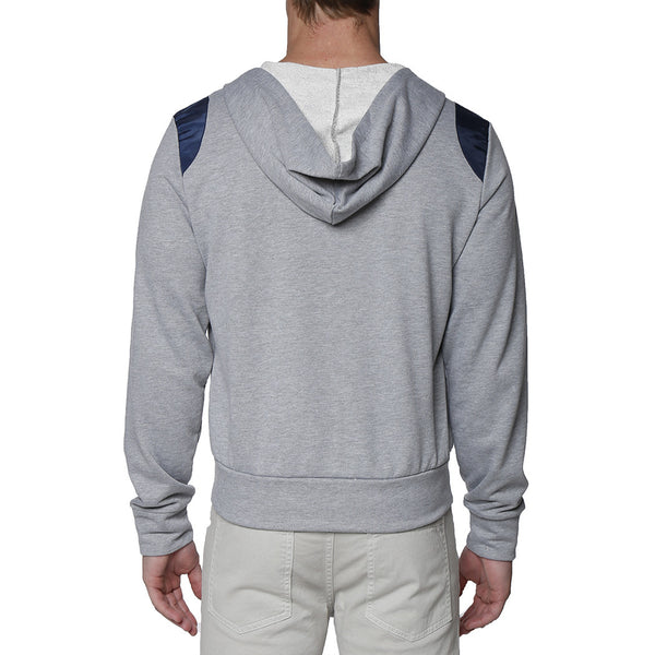 Solid French Terry Cloth Hoodie
