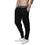 [parke & ronen] Solid French Terry Cloth Lounge Pant - black (Thumbnail)