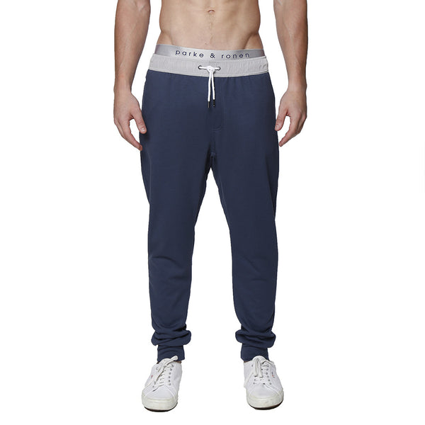 Solid French Terry Cloth Lounge Pant