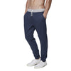 [parke & ronen] Solid French Terry Cloth Lounge Pant - navy (Thumbnail)