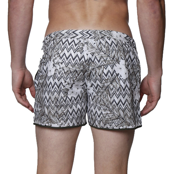 "2"" Angeleno Sierra Print Stretch Swim Short"