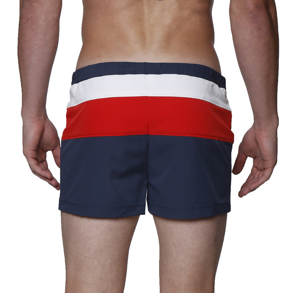 "2"" Colorblock Lancaster Stretch Swim Trunk"