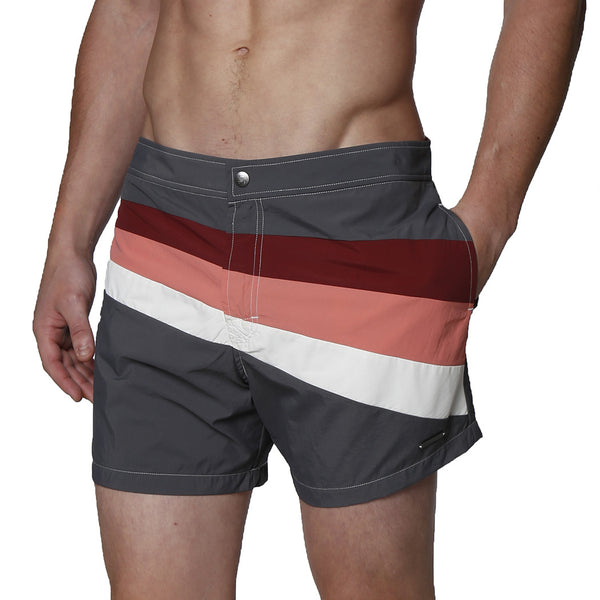 "5"" Colorblock Palma Dry Cloth Swim Trunk"