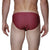 [parke & ronen] Swim Fan Print Meridian Bikini Brief - swim fan red (Thumbnail)