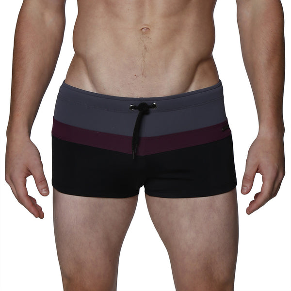 Colorblock Ibiza Square Cut  Brief