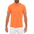 [parke & ronen] Solid Neon Crew Neck Tee - Orange Neon (Thumbnail)