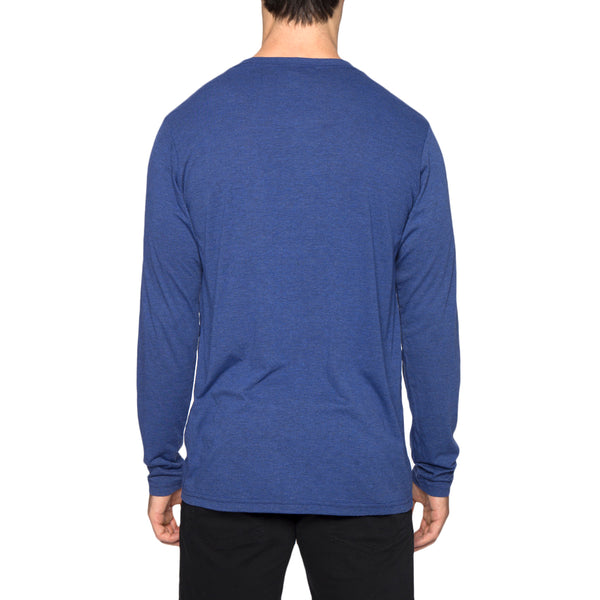Solid Long Sleeve V-Neck Tee