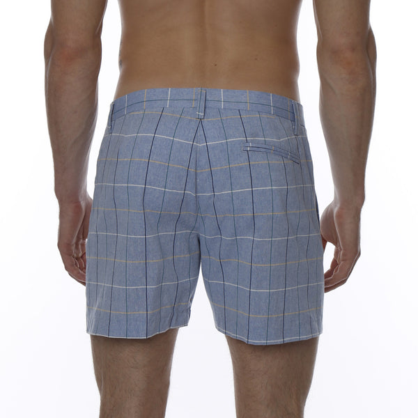 Glen Plaid Vintage Holler Mid-Thigh Short