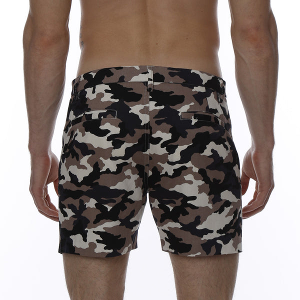 Camo Print Vintage Holler Mid-Thigh Short