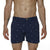 [parke & ronen] Pineapple Print Vintage Holler Mid-Thigh Short - navy pineapple (Thumbnail)
