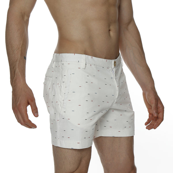 Etch Print Vintage Holler Mid-Thigh Short