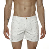 [parke & ronen] Pineapple Print Vintage Holler Mid-Thigh Short - white pineapple (Thumbnail)