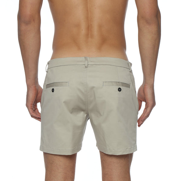 NEW COLORS- Solid Stretch Vintage Holler Mid-Thigh Short