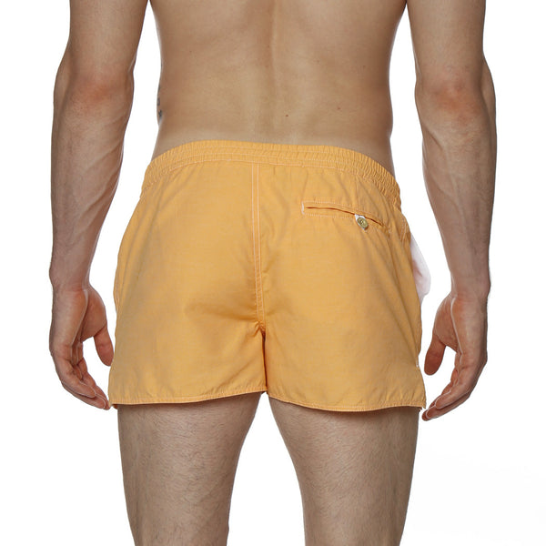 "2"" Solid Twill Barcelona Retro Swim Trunk"