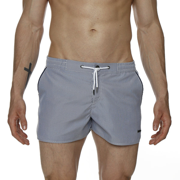 "2"" Pincord Barcelona Retro Swim Trunk"